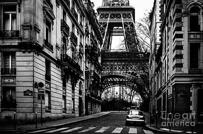 Eiffel Tower - Classic View Art Print