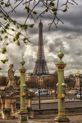 Photograph - Eiffel Tower by Doc Braham