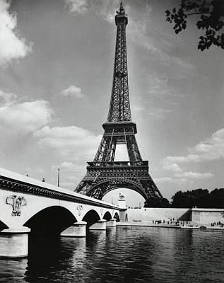 Photograph - Eiffel Tower  Paris  France by Superstock