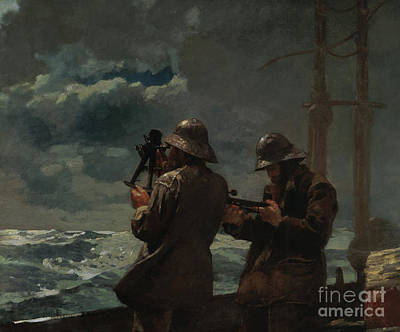 Painting - Eight Bells By Winslow Homer by Winslow Homer