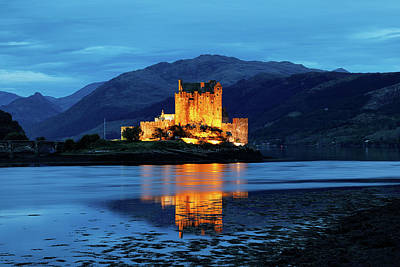Photograph - Eilean Donan Reflections by Nicholas Blackwell