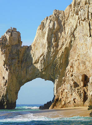 Photograph - El Arco In Cabo San Lucas by Emmy Marie Vickers