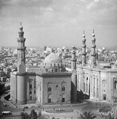 El Azhar Mosque Art Print by Three Lions
