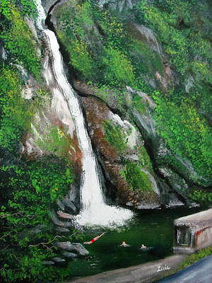 Painting - El Chorro De Dona Juana by Luis F Rodriguez