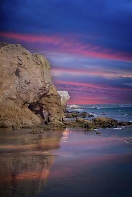 Photograph - El Matador State Beach Sunset by Lynn Bauer