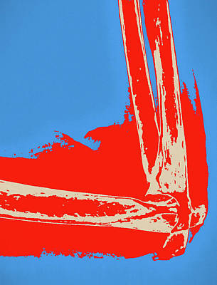 Painting - Elbow Joint Pop Art by Dan Sproul