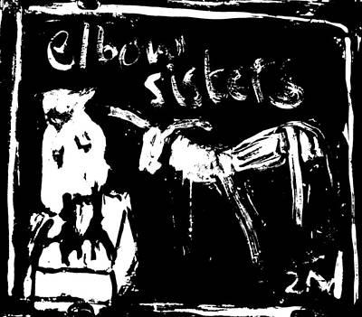 Digital Art - Elbow Sisters 2nd Goat by Artist Dot