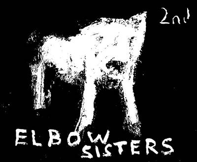 Digital Art - Elbow Sisters 2nd White Dog by Artist Dot