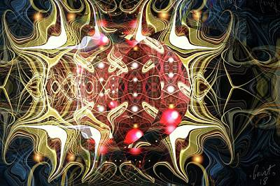 Digital Art - Electric 2 by Grant Wilson
