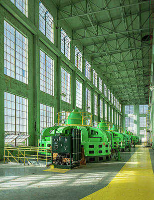 Photograph - Electric Turbines by Todd Klassy