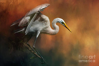 Wildlife Mixed Media - Elegance by Marvin Spates