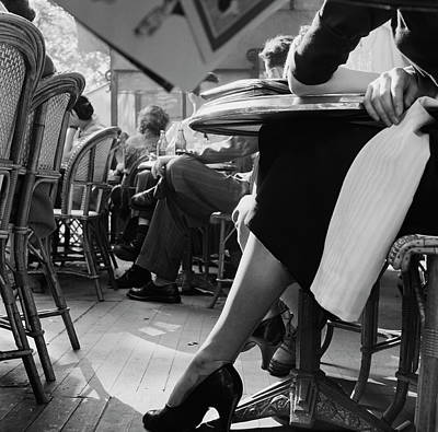 Photograph - Elegant Ankle by Bert Hardy