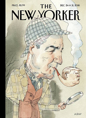 Drawing - Elementary by Barry Blitt