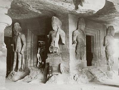 Elephanta Caves Art Print by Hulton Archive