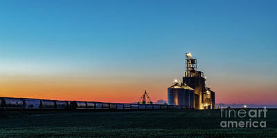 Photograph - Elevator Sunset by Brad Allen Fine Art