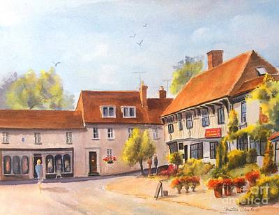 Painting - Elham, Kent,  by Beatrice Cloake