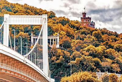 Pasta Al Dente - Elisabeth Bridge and buildings by Vivida Photo PC