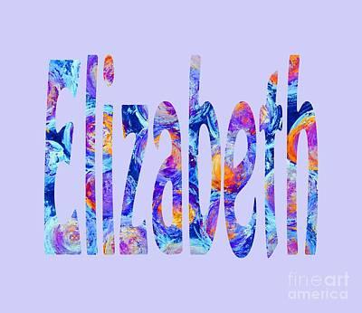 Digital Art - Elizabeth by Corinne Carroll