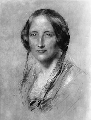 Elizabeth Gaskell Art Print by Hulton Archive