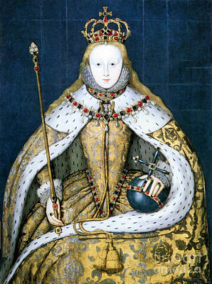 Photograph - Elizabeth I by Granger