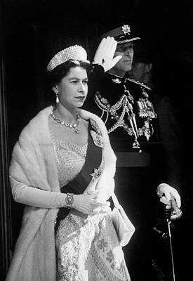 Photograph - Elizabeth II Rf England Rfphilip Rf by Ed Clark