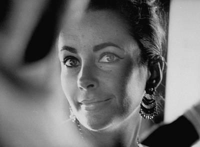 Photograph - Elizabeth Taylor by Gjon Mili
