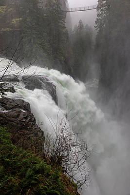 Photograph - Elk Falls by Randy Hall