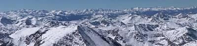 Photograph - Elk Mountains Of Colorado In Late by Photo By Matt Payne Of Durango, Colorado