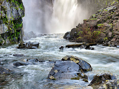 Photograph - Elk River Falls by Leland D Howard