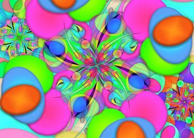 Digital Art - Ellipse Complex Remi Two by Vitaly Mishurovsky