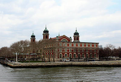 Photograph - Ellis Island  by Doc Braham