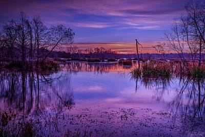 Photograph - Elm Lake 3 by David Heilman