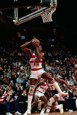 Photograph - Elvin Hayes Action Portrait by Jerry Wachter