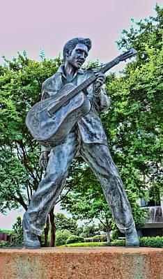 Photograph - Elvis - Beale Street, Memphis by Allen Beatty