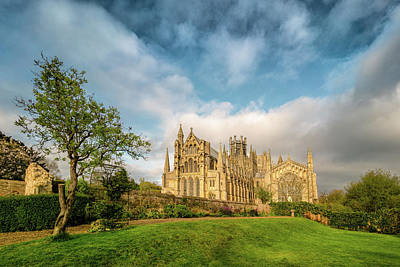 Photograph - Ely Cathedral, Morning View by James Billings