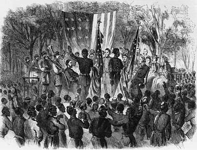 Emancipation Day Art Print by Fotosearch