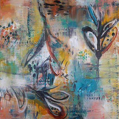 Painting - Emancipator by Becky Chappell