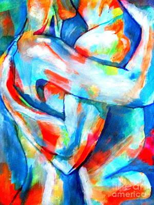 Painting - Embrace Me by Helena Wierzbicki