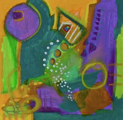 Mixed Media - Emerald Dreams by Donna Blackhall