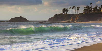 Photograph - Emerald Green Surf by Cliff Wassmann