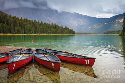 Photograph - Emerald Lake by Inge Johnsson