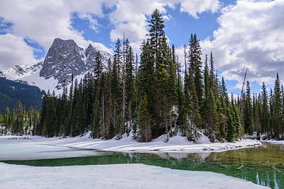 Photograph - Emerald Lake by Keith Boone