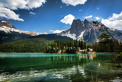 Photograph - Emerald Lake Lodge Summer by Monte Arnold