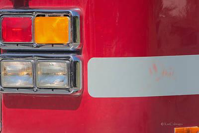 Photograph - Emergency Vehicle #2 by Kae Cheatham