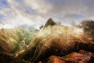 Photograph - Emerging Machu Picchu by Scott Kemper