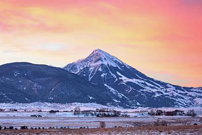 Photograph - Emigrant Peak by Todd Klassy
