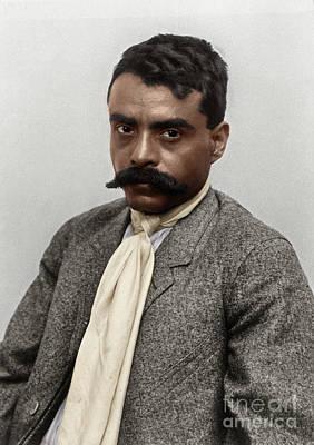 Photograph - Emiliano Zapata by Granger