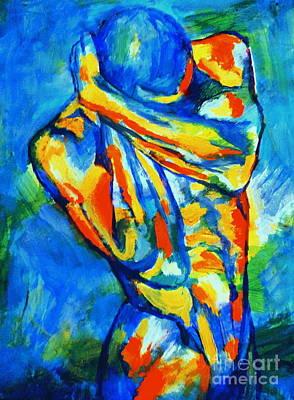 Painting - Emotional Figure by Helena Wierzbicki