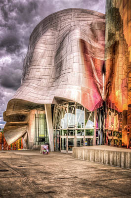 Photograph - Emp At Seattle Center by Spencer McDonald