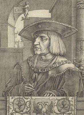 Relief - Emperor Maximillian I by Lucas van Leyden